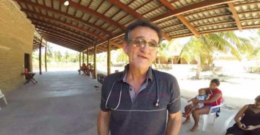 Médico constrói posto de saúde para atender crianças no CE