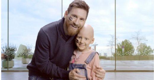 Messi doa € 30 mi para centro de tratamento ao câncer infantil