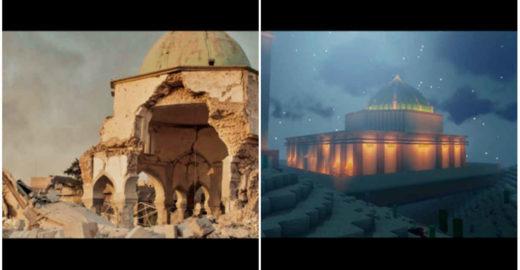 Minecraft ajuda reconstruir patrimônios destruídos por guerras