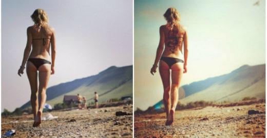 Série de fotos 'antes e depois' mostram o poder do Photoshop