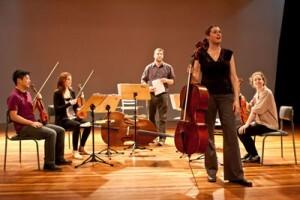 Músicos de Nova York tocam com a Orquestra de Cordas do Guri