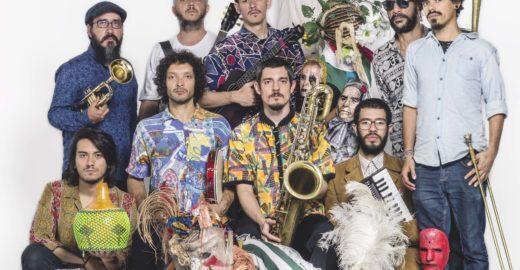 Nomade Orquestra faz show gratuito neste domingo em Santo André