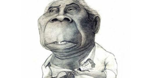Nove caricaturas de Nelson Cavaquinho