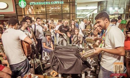 Paulista com Farofa monta picadeiro para fazer churrascão no sábado