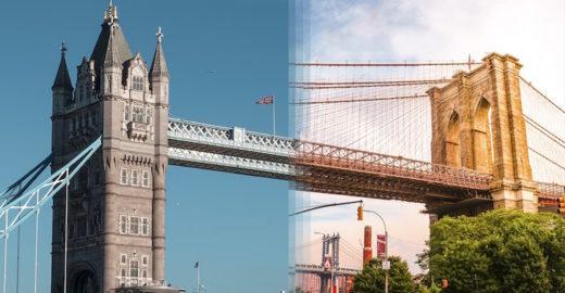 Casal mistura fotos para mostrar semelhanças ao redor do mundo