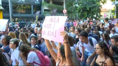 protesto educação