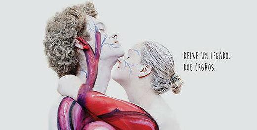 Arte viva incentiva doação de órgãos