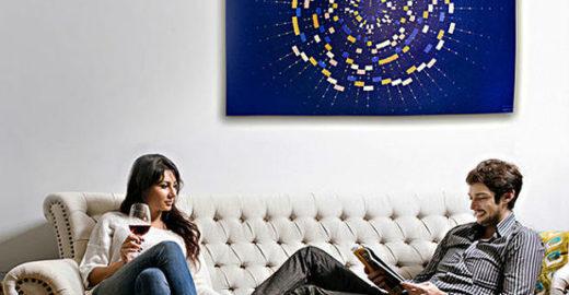 Startup americana cria quadros com DNA do cliente