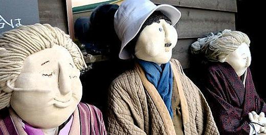 Loucura ou arte? Pequeno vilarejo japonês é habitado por bonecos