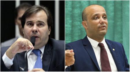 rodrigo maia líder governo Bolsonaro