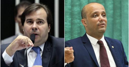 Rodrigo Maia rompe com líder do governo Bolsonaro na Câmara