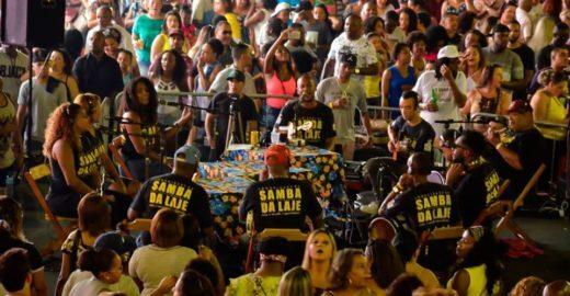 Aniversário de 22 anos do Samba da Laje acontece neste domingo