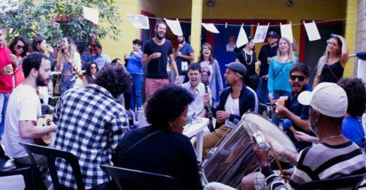 Samba do Bule faz roda gratuita no Sesc Bom Retiro