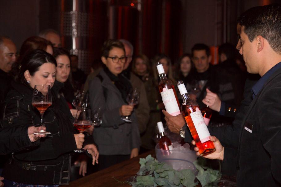 Passeio também incluiu tour para conhecer o processo de elaboração dos vinhos