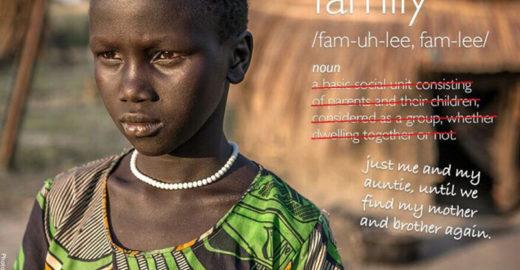 Para defender crianças, projeto contra a guerra redefine palavras