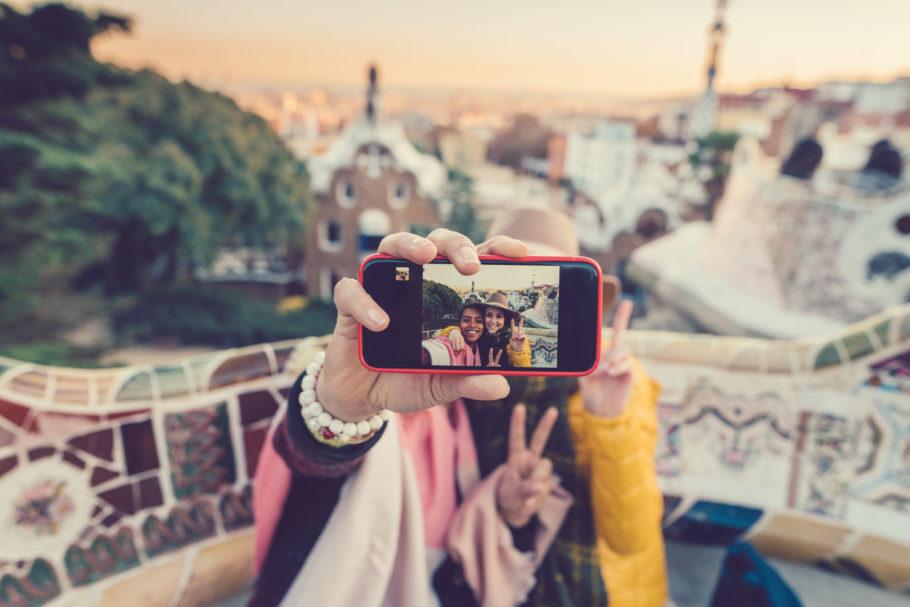 Selfie viajantes