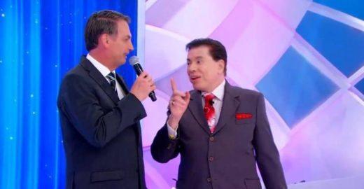 As 4 maiores bizarrices da entrevista de Silvio com Bolsonaro