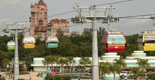 Disney vai ganhar teleférico ligando parques e hotéis em Orlando