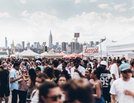 festival gastronomico smorgasburg em nova york