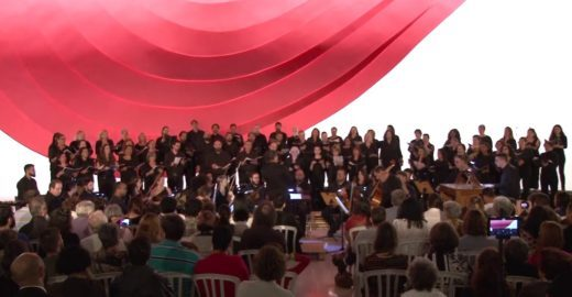 Temporada de Concertos: Coro Luther King no Foyer do Auditório Ibirapuera