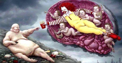 Ilustrações sobre a sociedade atual são soco no estômago