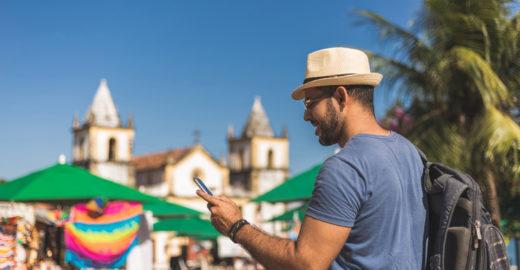 Brasileiro está entre os que menos faz viagens internacionais