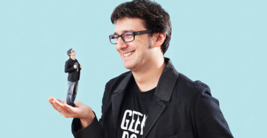 Startup alemã transforma  clientes em bonecos 3D