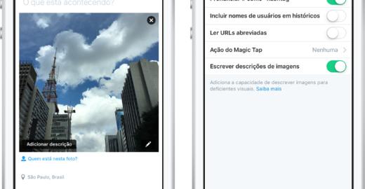 Twitter passa a permitir descrição de imagens e fica mais acessível