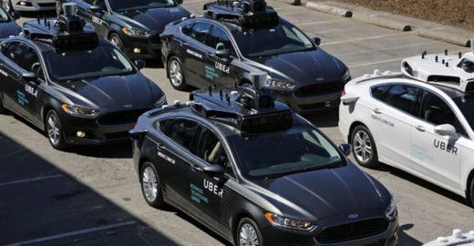 Uber lança serviço de carro sem motorista nos EUA