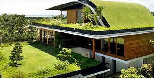 Telhados verdes unem beleza e sustentabilidade