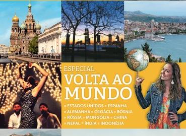 """""""Volta ao Mundo"""" de graça: baixe a edição especial da revista Viagem e Turismo"""