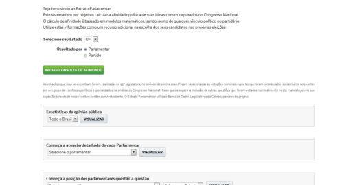 Voto Aberto cria plataforma de transparência pública