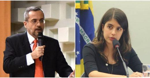 Tabata Amaral acusa ministro Weintraub de divulgar seu telefone