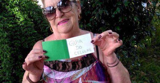 Sobrinho faz guia de como usar celular para tia de 76 anos