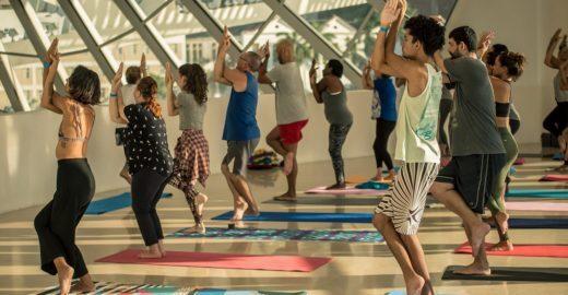 Yoga no Museu do Amanhã: programinha zen quinzenal e gratuito
