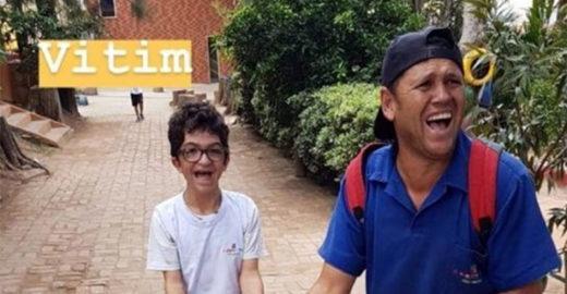 Conheça a amizade entre aluno com deficiência e zelador de escola