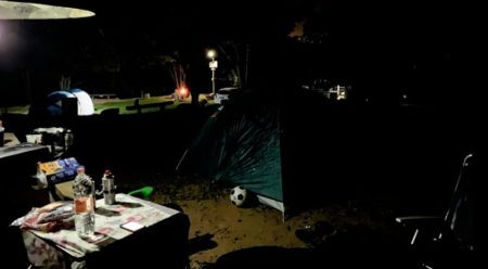 camping a noite