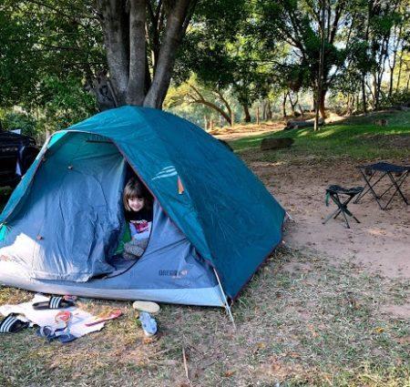 camping em familia