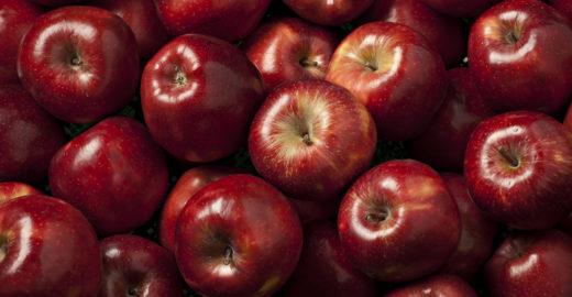 Agrotóxico penetra além da casca da maçã, alerta estudo
