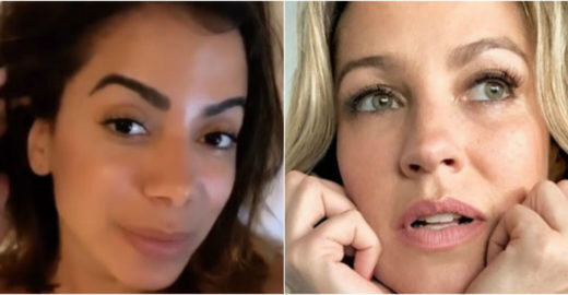 Anitta rebate post de Luana Piovani após assumir Scooby