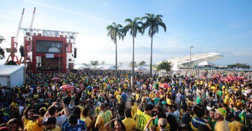 Praça Mauá tem transmissão da Copa América e shows gratuitos