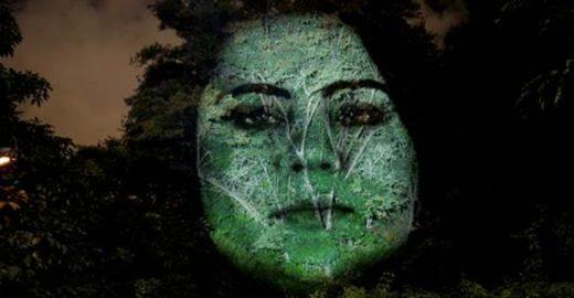 Árvores ganham rostos para alertar sobre doença rara