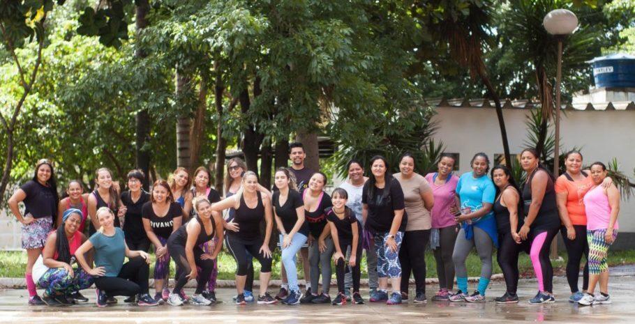 grupo de atividade física