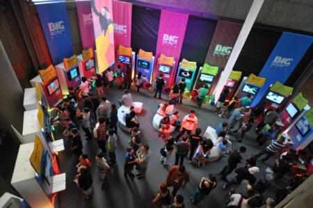 auditório do big festival Brazil's Independent Games Festival