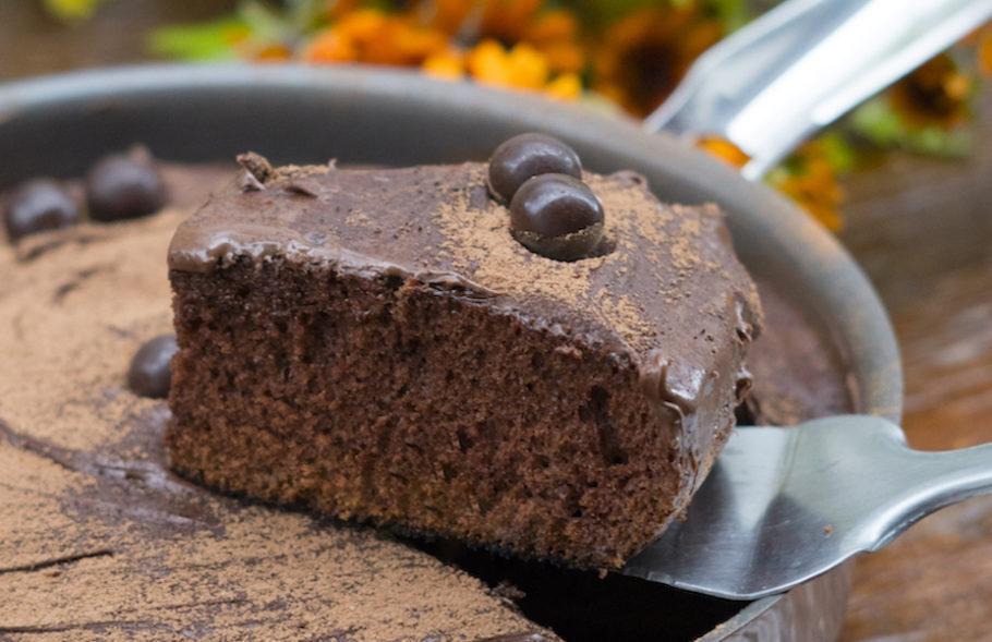 Bolo de Chocolate na Panela