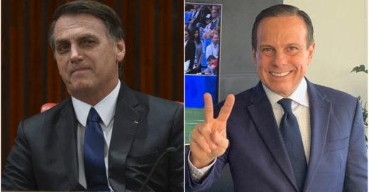 Bolsonaro 'paga' flexão com Doria e web não perdoa