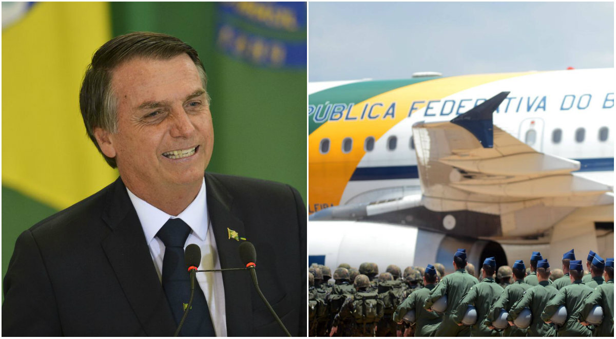 Avião presidencial com 39kg de cocaína viraliza memes na web