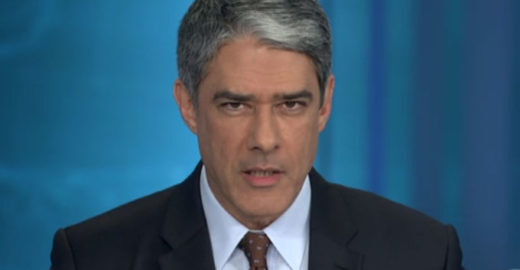 Willian Bonner chama Moro de ex-ministro no Jornal Nacional