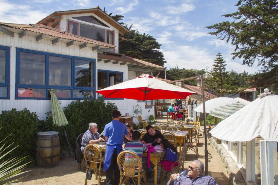 Isla Negra é uma das três casas que o escritor Pablo Neruda construiu no Chile