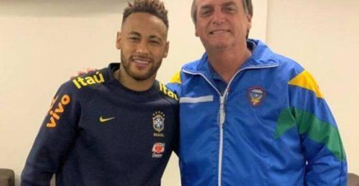 Dimenstein: o crime que Bolsonaro não se importou ao abraçar Neymar